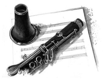 Clarinet - print