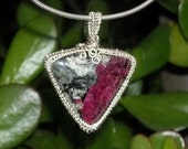 Eudialyte Sterling Silver Pendant