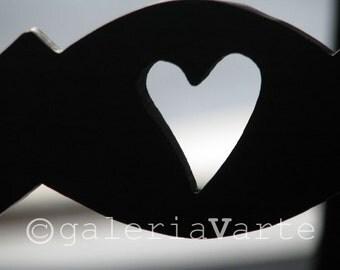 Brown Heart fine art photography - Saudade - europeanstreetteam