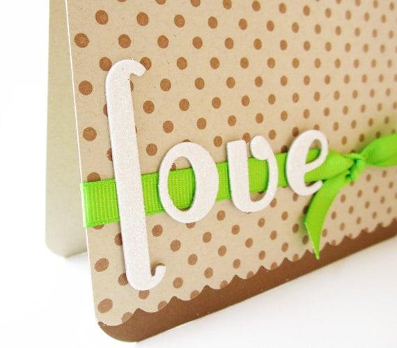 Handmade Love Card, Love
