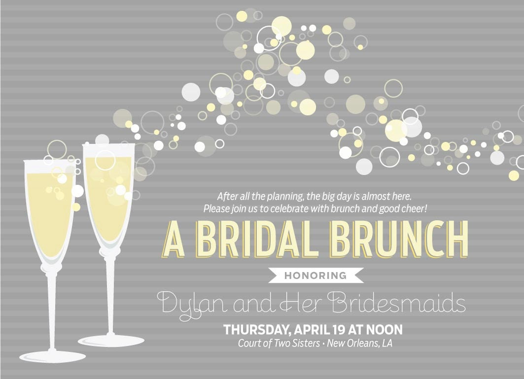 Watch more like Champagne Brunch Invitations