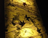 Japanese Maple - Hanging Light  Wall sconce  -  Ambient lighting