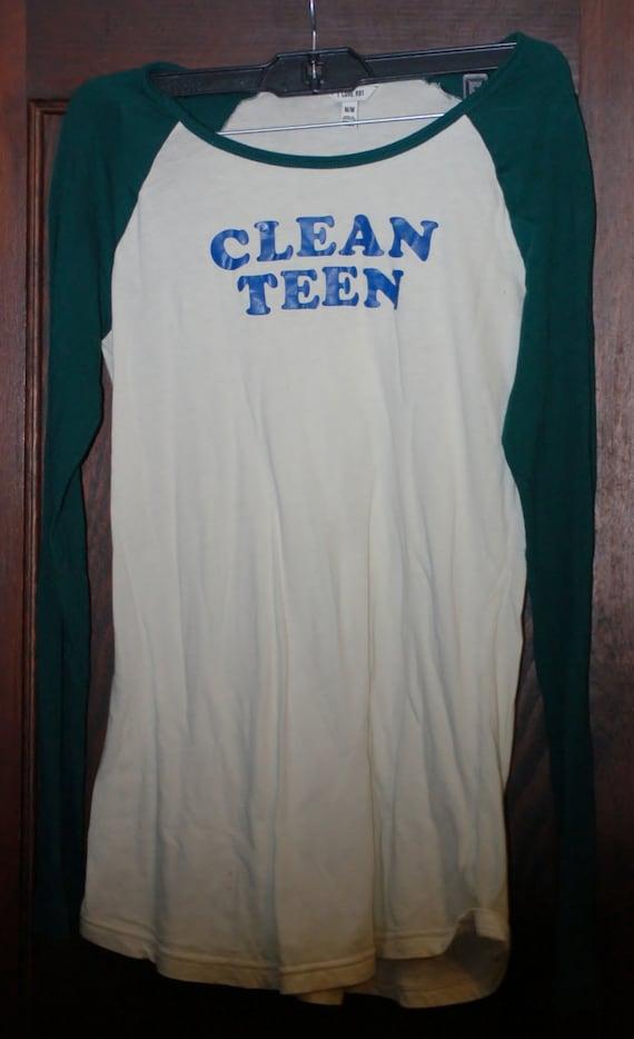 Hand Made Clean Teen Shirt