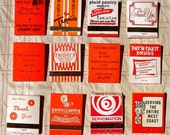 Vintage Matchbooks