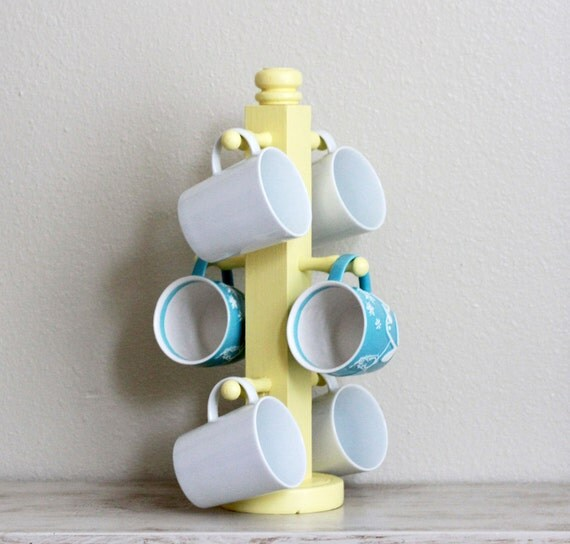 Lemonade yellow coffee mug holder
