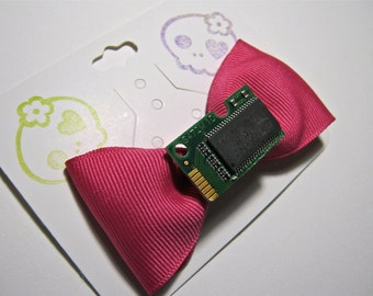 Pink geek chic bow
