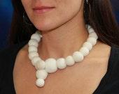 Cat hair necklace no2 by Flora Davis
