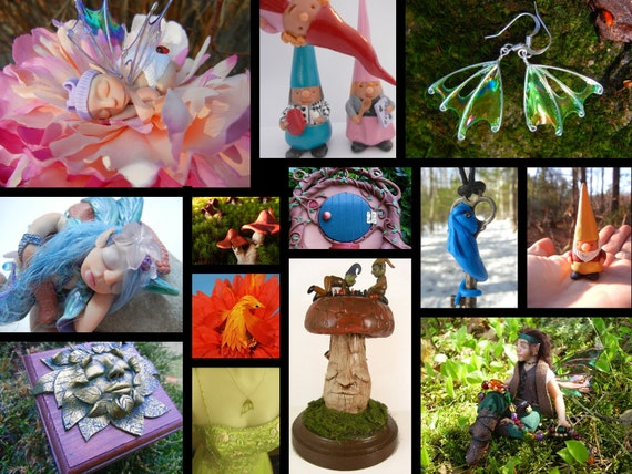 RESERVED for TwistedWhimsey, hand made fairy and dragon jewelry special order