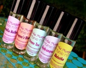 5 PERFUMES You Choose the Scent. Roll On. Natural, fragrant Oil. Custom made. More than 250 fragrances. Olivia Morgana.