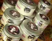 4 Jars 5.5 OZ. each Body Cream YOU CHOOSE the Scent. Shea & Cocoa Butters, Vitamins, Japanese Green Tea, Oils. Paraben free.