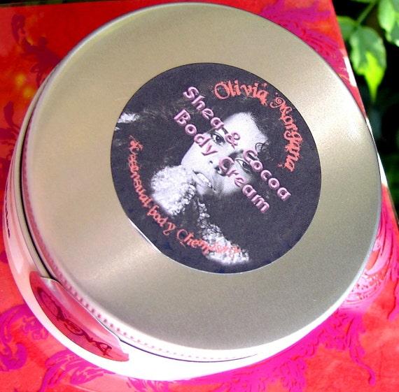 PISTACHIO ICE CREAM Body Cream. Shea and Cocoa Butters, Oils, Vitamins, Japanese Green Tea. Natural, Vegan, Scented. Olivia Morgana.