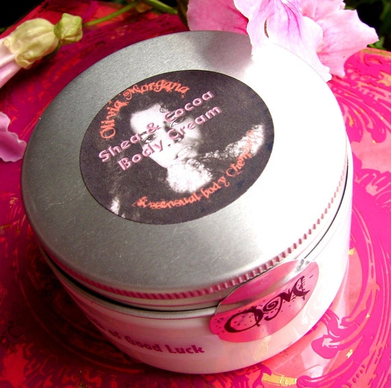 FROZEN MARGARITA Shea and Cocoa Body Cream. Shea and Cocoa Butters with Vitamins and Japanese Green Tea. Paraben free. Olivia Morgana.
