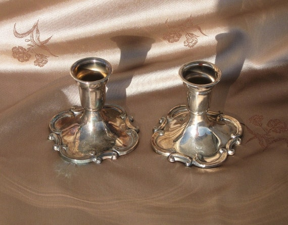 how to clean silver plated candlesticks