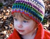 Kids Striped Hat - Fun Random Stripes