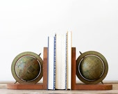 Spinning Globe Bookends