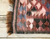 Southwestern Wool Throw Rug