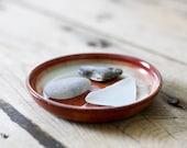 Vintage Pottery Trinket Dish