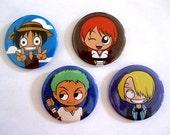 One Piece 2.25 Inch Pins