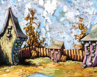 Covington 2 giclee 12x24 1 inch gallery wrap signed by maydak for Wrap house covington