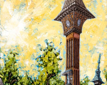 Covington 2 giclee 12x24 1 inch gallery wrap signed maydak for Wrap house covington