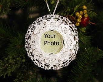 Christmas Ornament Embroidered  3D Honors Someone Special 5.5X5.5