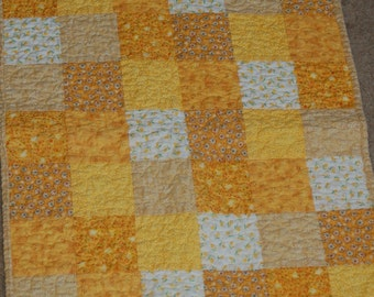 Yellow Doll Quilt