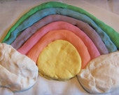 64 ounces of play dough. Non toxic. Made to order. Includes Bright White     4 pounds of fun.  Vegan Friendly