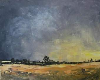 SALE! (from 200 to 180 dollars) That September Feeling (3) (original oil on canvas)