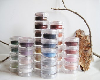 5 pc - Natural Mineral Stackable Eye Shadows and Liners