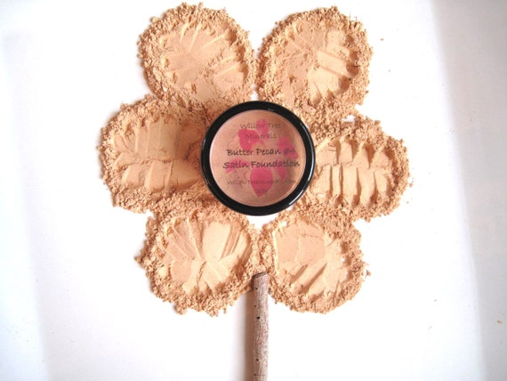 Butter Pecan - Pure and Natural Mineral Satin Foundation