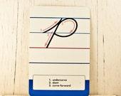 Back to Old School - Vintage Alphabet Card Goodmerchants
