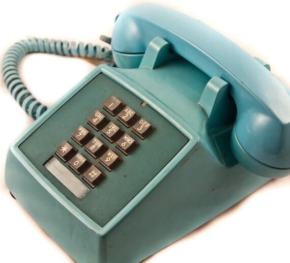Christmas in July Sale Vintage Telephone