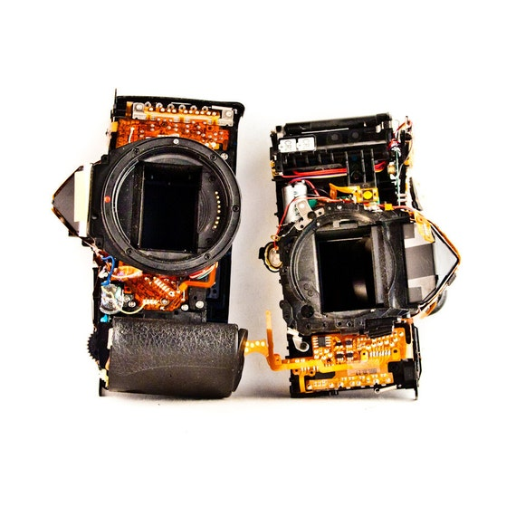 Destroyed Camera Electronic Salvage Etsy Supplies Goodmerchants