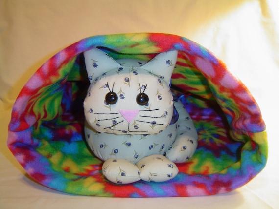 Multi Colored Pet Snuggle Sack 100% Animal Charity