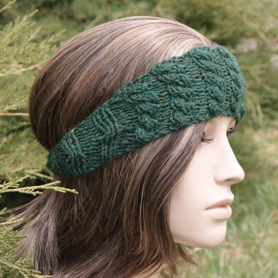 Plain Jane Cable Headband - Pine