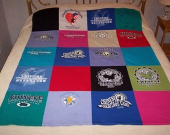 custom keepsake tshirt quilt