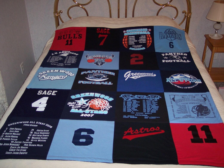 Custom t-shirt quilt
