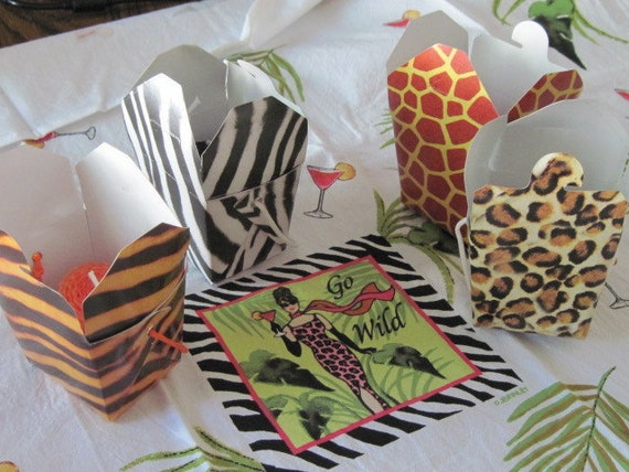 Go Wild Party Favors