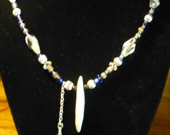 Coyote Tooth Necklace, Native American Indian Inspired, OOAK Modern Primative for Her