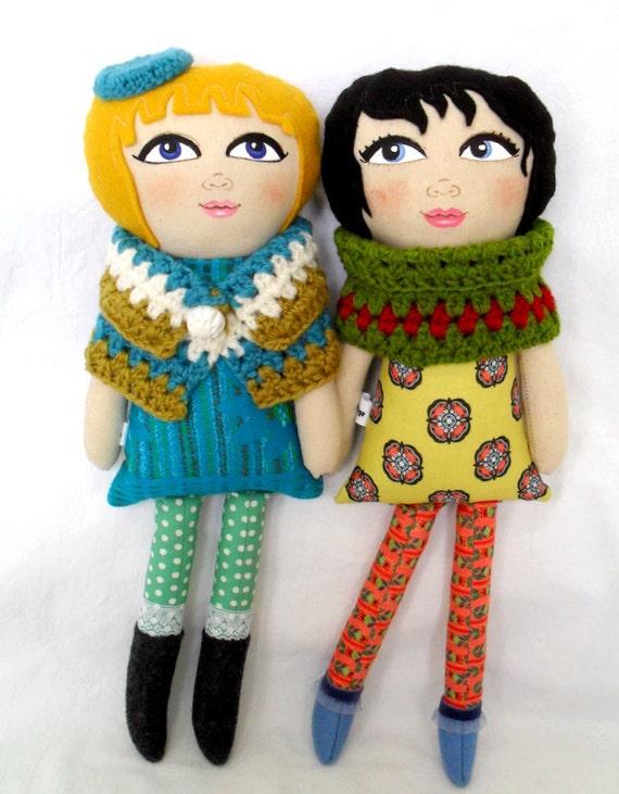 Miss Romy Handpainted Doll