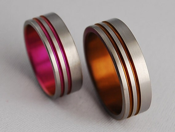 wedding bands titanium rings promise rings titanium wedding band