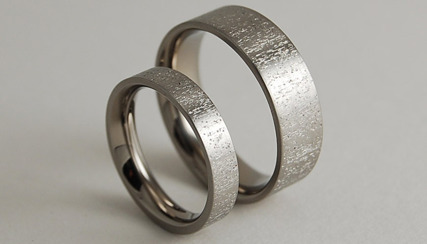 wedding bands titanium rings promise rings titanium wedding