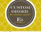 Custom Order For Glenise