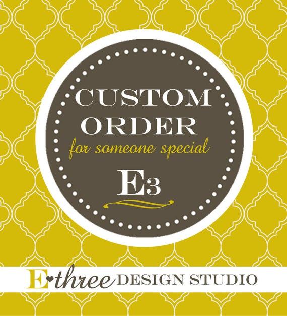 Custom Order For Heather