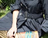 Tan Calf Hair on Multi-Color Zebra Stripe Clutch-IN STOCK Ready to Ship