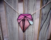 Diamond Tear Necklace