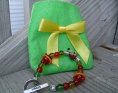Froggy and Snakey Children's Summer Bracelet With Gift Pocket
