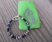 Purple Bead Bracelet for kids and teens