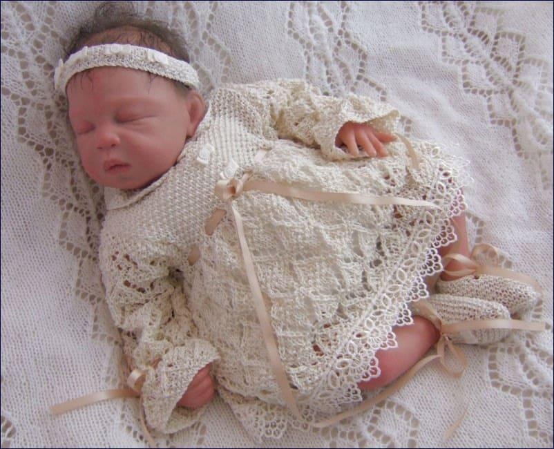 Baby Knitting Pattern Baby Girls Download PDF Knitting