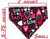 Small Pet  Bandana - Crazy Little Thing Called Love - Free Shipping